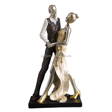 custom hand made wholesales resin dancer figurines