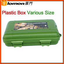 132*90*37Mm Waterproof Green Plastic Packaging Box,Plastic Tool Box,Plastic Box For Flashlight
