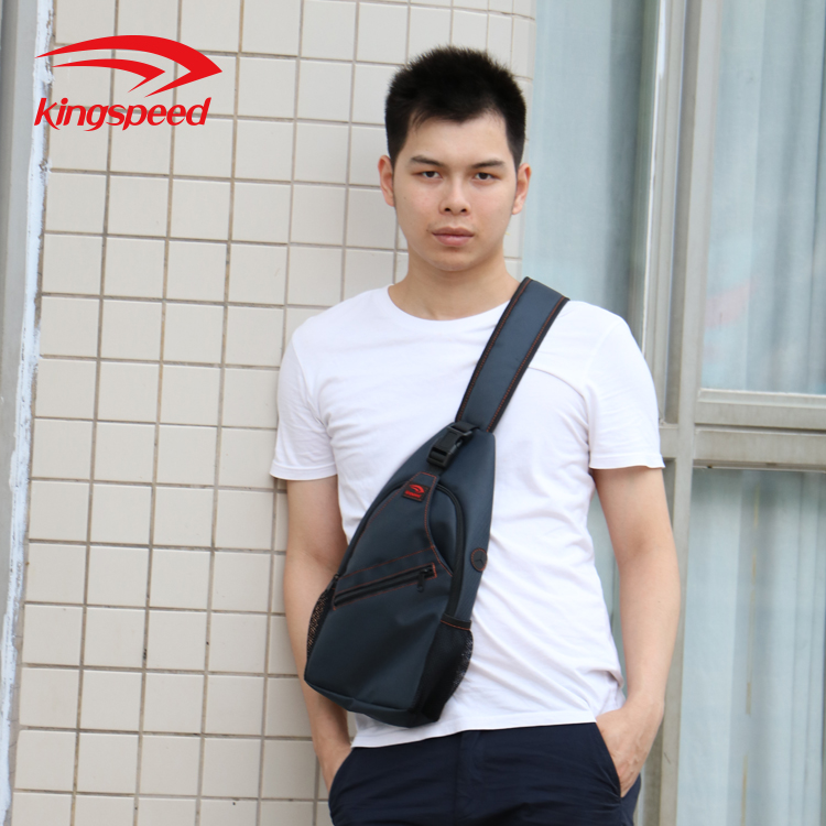 Kingspeed New Product Outdoor Sports Custom Small Travel Zipper Shoulder Bag