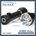 18650 / 26650 Powerful Led Diving Lights 200m U2 Magnetic Switch