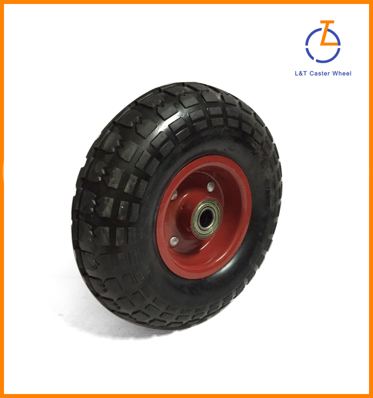 "6"" solid rubber wheel"