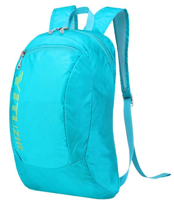 Lightweight waterproof nylon travel foldable backpack,folding backpack sports bag