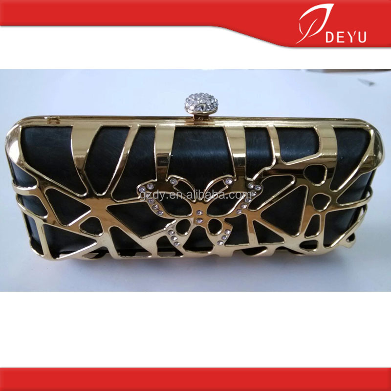Wholesale fashion metal purse box frame for purse F027