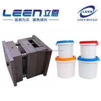 Taizhou Moulding Plastic Bucket With Cover Mould,Plastic Bucket Mould