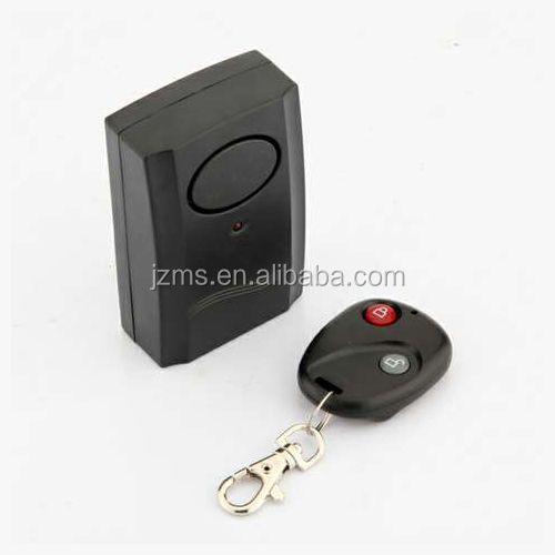 Wireless Vibration Detector Anti-Theft Remote Control Security Alarm