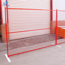 6'X9.5'PVC powder coated temporary fence panel,construction fence and Canada temporary fence panels hot sale