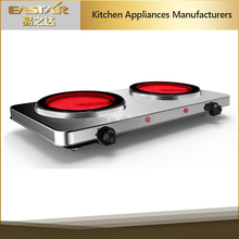 Double cooker Ceramic Stove Infrared cooker Glass hotplate