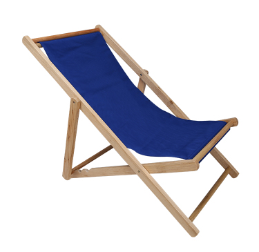 Wood and fabric foldable sling chair
