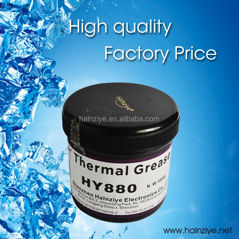 High thermal conductivity cpu thermal conducting paste/grease/compound with stability cooling for cpu/led