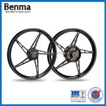 factory wholesale best price 17 inch motorcycle scooter wheels