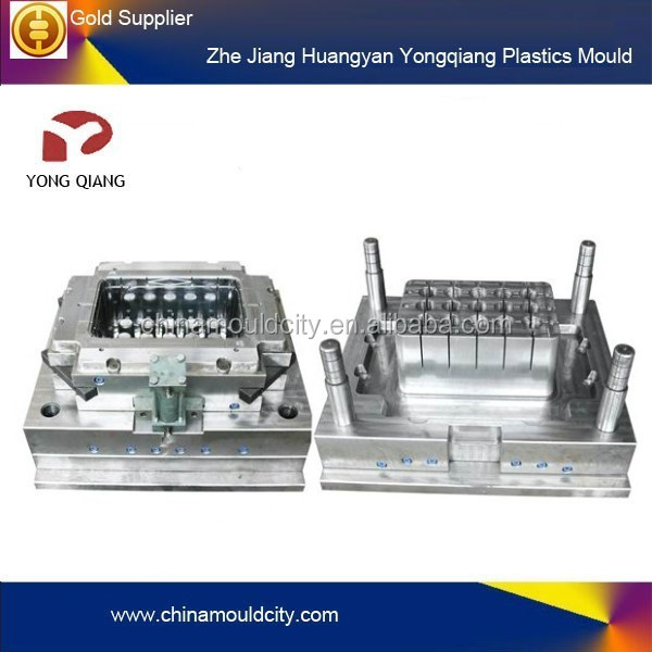 Injection crates Plastic mold/moulds of Plastic beer&Fruit and Agricultural for plastic crate moulds factory