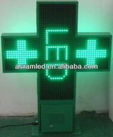 wholesale alibaba china programmable two sides 80cm outdoor led pharmacy open sign