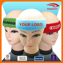 2016 customized terry cotton yoga sport hair band
