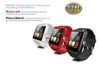 Factory price U8 Bluetooth Smart Wrist Watch Smartphone For IOS Android iPhone S4 Samsung HTC