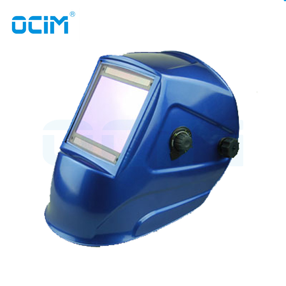 TFM9801 Blue Hot Sale 4 Sensors Auto Darkening Welding Helmet EN379