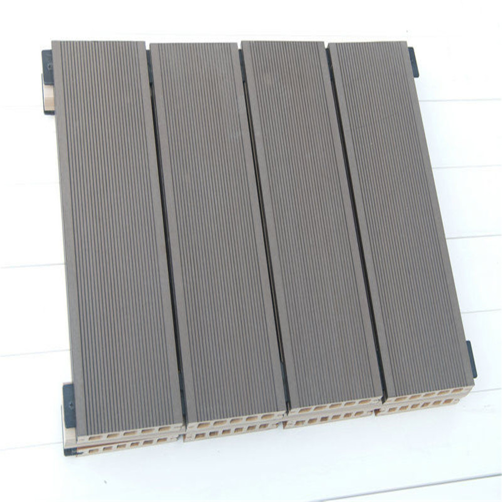 Outdoor Wood Plastic Composite Decking floor merbau decking