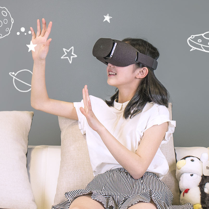 Original Xiaomi VR Play 2 Virtual Reality 3D Glasses Headset