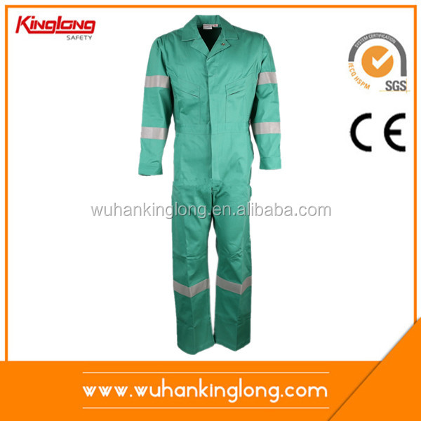 Custom Made Green Hi Vis Safety Workwear Coverall