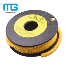 Factory Industry PVC Colorful Cable Wire Route Marker Tube