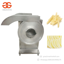 2017 Industrial Automatic Small Potatoes Cut Carrot Stick Cutting Cassava Chips French Fry Cutter Machine