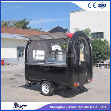 China Exported JX-FR220J Street Mobile Kitchen Burger Food Cart Kiosk / China Design Towable Canopy Mobile Food Cart