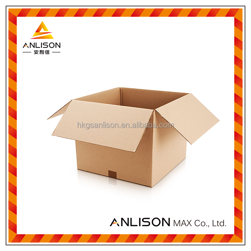 Customized Kraft Cardboard Packaging Carton Packing Box