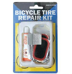 Bicycle tire repair carry-on bag package tools