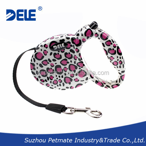 Pet Product Fashion Retractable Dog Leash for Dogs up to 15kg