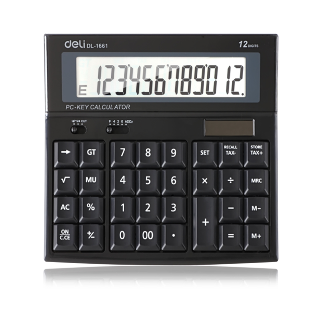 Hot sale Card type converter 12 digit currency calculator