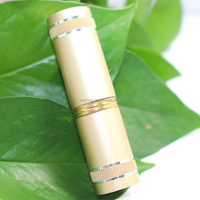 Round Empty Metal Lipstick Case/Gold Lipstick Tube Wholesale