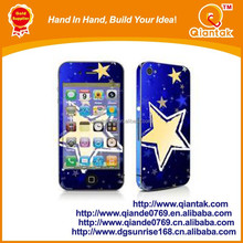 Hot Sale PVC,PET Mobile Phone Sticker for iphone,Samsung