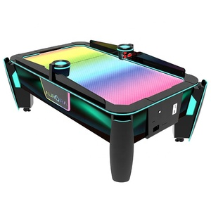 Gettoni air hockey macchina del gioco di sport di divertimento arcade air hockey da tavolo per la vendita