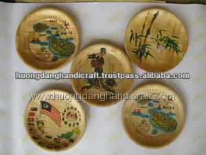 Bamboo dish, fruit holder and gifts