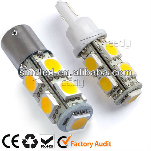 AC/DC 12V 9SMD 5050 1.4W 95-105LM car alarm strobe light