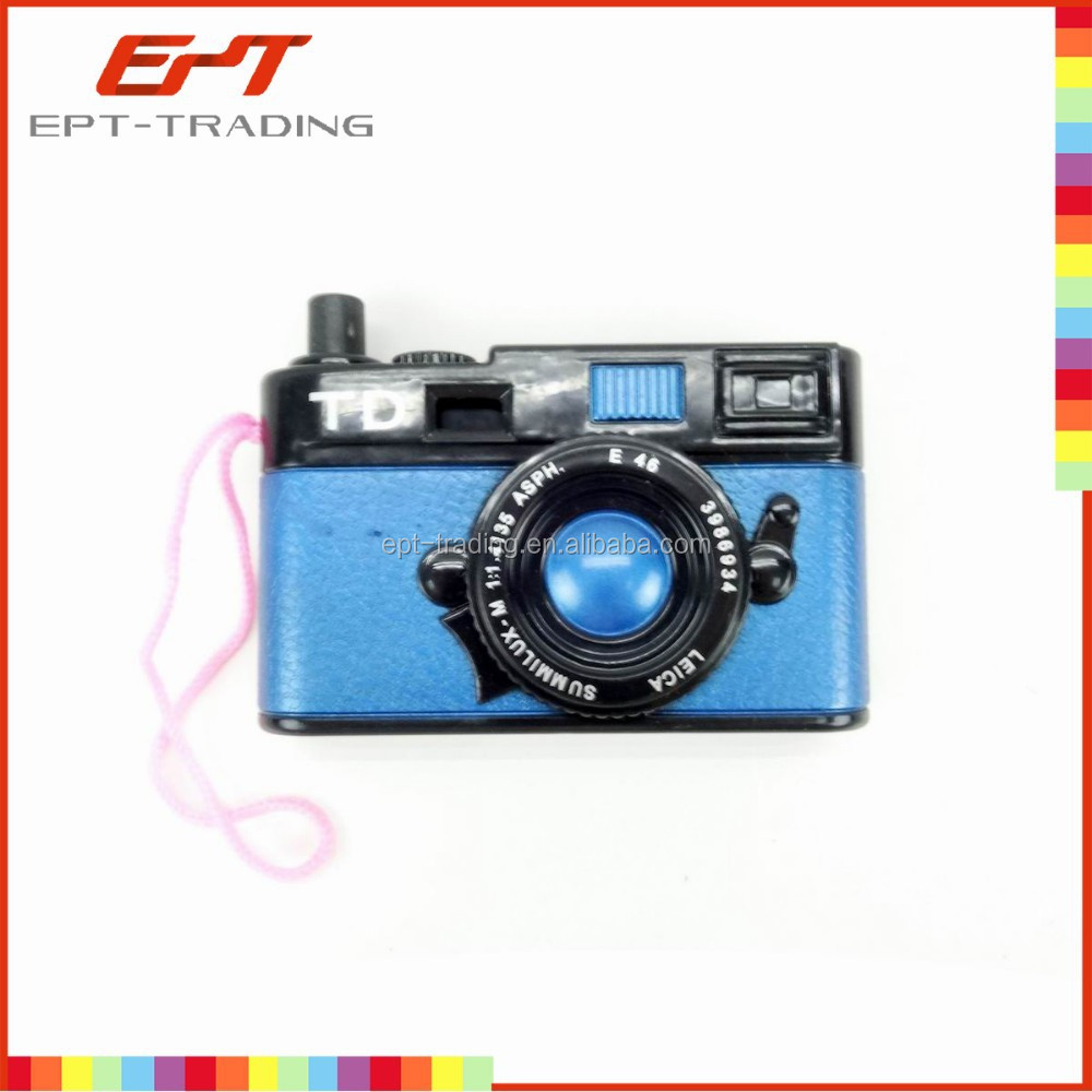 Promotional kids mini plastic toy camera