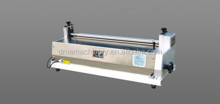 cheap price desktop paper gluing machine