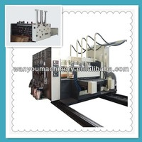 Automatic hight speed flexo printer slotter die cutter machine for corrugate board
