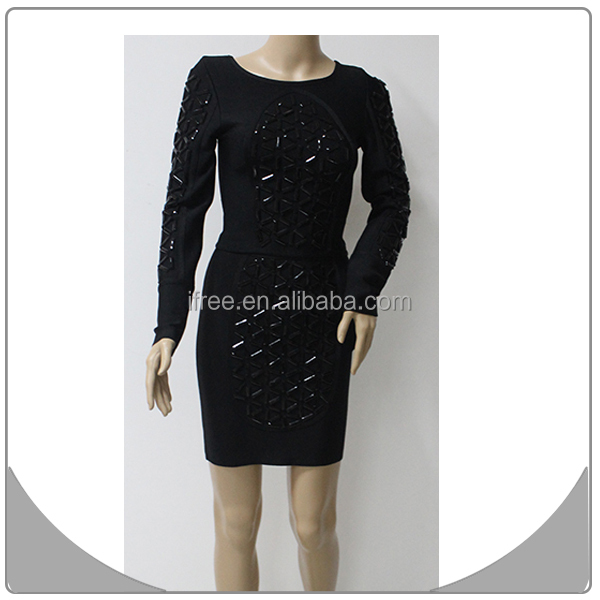 2014 new arrival fashion dress summer bandage dress