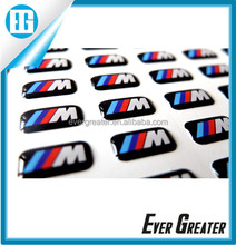 Custom make epoxy resin sticker 3D GEL DOMED DECALS Dome Stickers custom flag car badge sticker