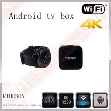 Best android 6.0 quad core tv box 4k free android tv box digital satellite receiver