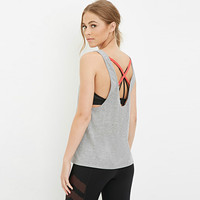Four Needles Six Threads Technics Sports Wear Clothing Womens Plain Tank Top