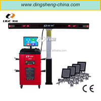 DS7 3D Accurate Wheel Aligment Machine with Electrical Controled Moving Post