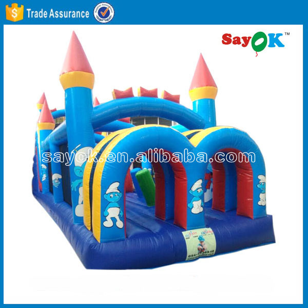 playing inflatable baby bouncer jumping castle frozen inflatable bouncer castle combo