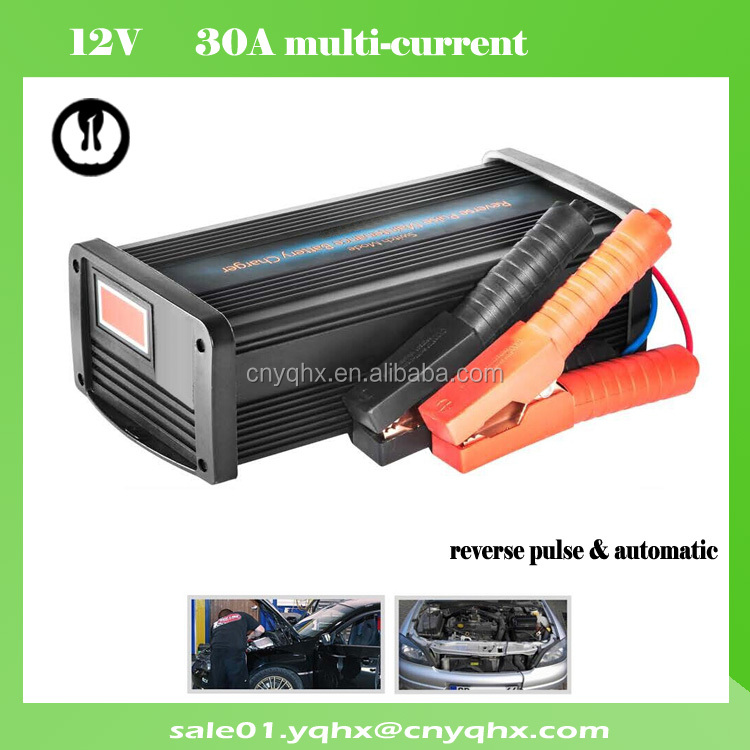 portable max 80 amp circuit 50a battery charger for 150ah agm battery for lead acid battery ev electric vehicle