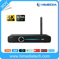 Wholesale 8G android4.4 wifi Quad Core 4K hd smart tv set top box with CE Certificate