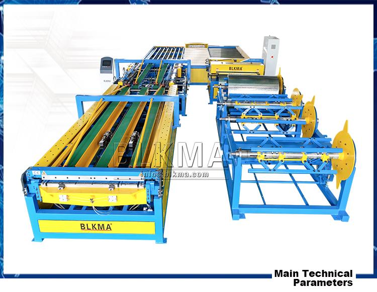 Quadratischen Lüftungskanal Herstellung HVAC Auto Rechteckkanal ...