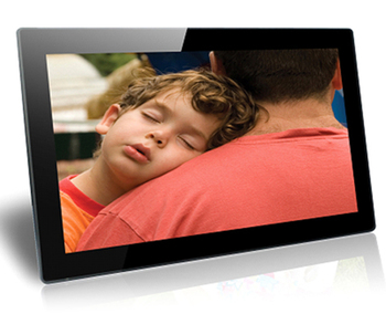 18.5 inch advertising display monitor with SD card slot