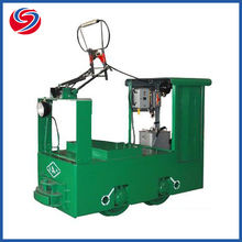 China Factory Cheap 1.5T Mining Railway Narrow Gauge Coal Mine Electric Trolley Mining Locomotive