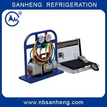 4 valve manifolds Scales Refrigerant Charging Recovery Station