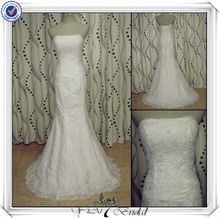 JJ2732 Mermaid Lace Alibaba Spanish Style Wedding Dress